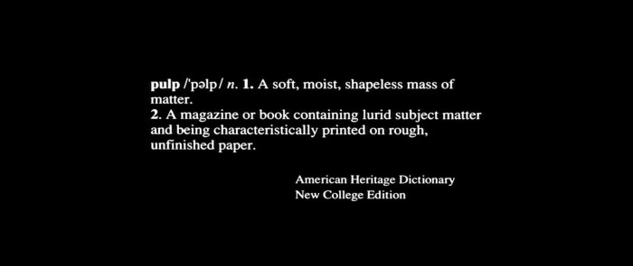 pulpdefinition